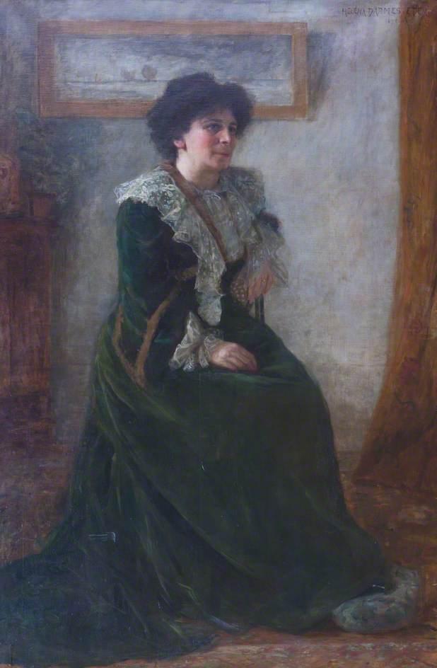Retrato de Hertha Ayrton